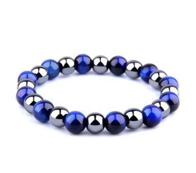 Blue Tiger Eye Bracelet - Shopency